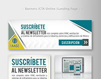 Newsletter - Diseño de Banners