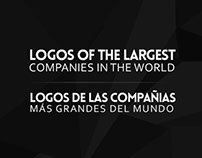 Logos of the largest companies in the world.