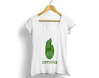 Identidad de marca para Omnia, sala de Yoga