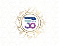 Inteligensa 30th Anniversary Invitations & Logo