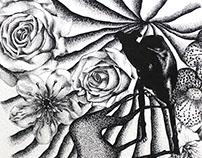 Viaje a través de las flores