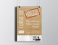 Cartaz - Curso de Linguagem Visual