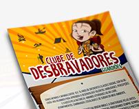 Panfleto Clube de Desbravadores