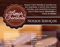 Panfleto - Amor de Chocolate
