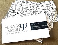 Cartões de visita - Renata Marin
