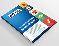Mockup para Accu-Chek de Roche