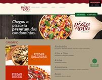 Pizza Nova - One Page Design