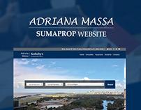 ADRIANA MASSA - SUMAPROP WEBSITE