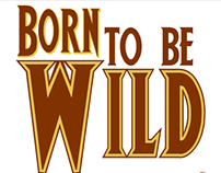 """Poster Born to be Wild - Série """"It's Rock!"""