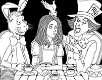 Alice and a Mad tea-Party