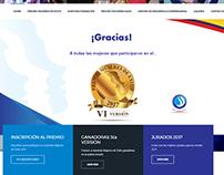 Fundación Mujeres de éxito Pagina web