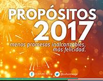 Campaña Culture to Go 2017 | Propósitos de Año Nuevo