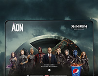 ADN Mutante XMEN - Landing Page
