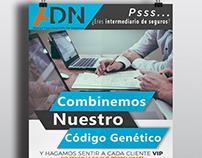 Propuestas de Poster para proyecto ADN