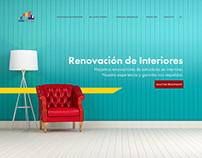 Web Design - Interfaz gráfica - Home + Páginas internas