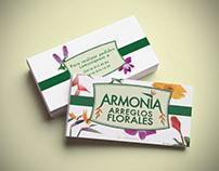 Armonía: Logo and Business Card (2011)