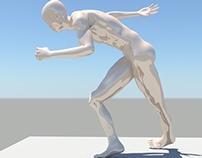 Rigging- Poses de un patinador(Analisis Aeronautico)