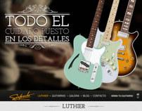 Salcedo GuitarWorks - Diseño Web
