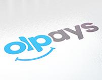 olpays. Logo & Brand Design.