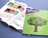 Revista Wonka para comunicação interna