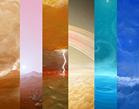 The Sky in Other Planets