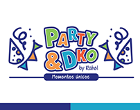 Isólogo - Identidad Corporativa Party&Dko