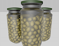 Olives - First using C4D (Test)
