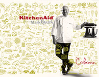 CAMPAIGN KITCHENAID COL. AND CHEF MARK RAUSH.