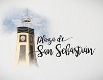 Plaza de San Sebastián / Digital Painting / Animación