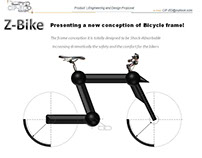 Bicycle frame | shock-absorbing conception