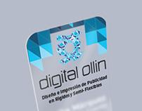 Tarjeta Presentación Digital Ollin