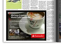Producción Gráfica & Diseño: Banco Santander.