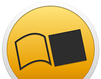 Saraiva Reader's Icon for OS X Yosemite Concept