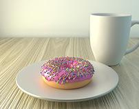 Donut 3D Modeling
