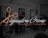 Salón de Peinados Alejandra Gione | Diseño de Identidad