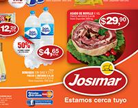 Diseño promocional de Josimar Supermercado
