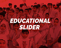 Educational Slider