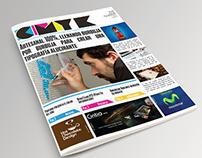 CMYK Periódico de diseño