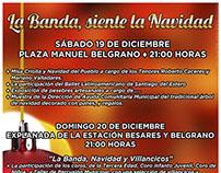 Diseños para Navidad en La Banda, Santiago del Estero