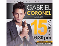 Flyer para Gabriel Reyes