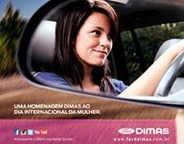 E-MKT Institucional Dia Internacional da Mulher - Dimas