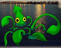 Textured Squid