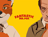 Afiche - Fantastic Mr. Fox