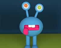 3D Little Monster