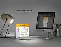 CURRICULO  FELIPE FERNANDES DESIGNER GRAFICO