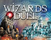 Wizards Duel Game Art