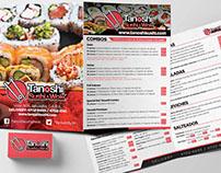 Two Fold Sushi Brochure