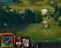 Stream Overlay | DotA 2 Custom HUD