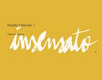 Diseño Editorial - Insensato