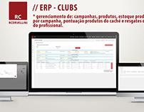 CLUBS - ERP e Portal do Profissional